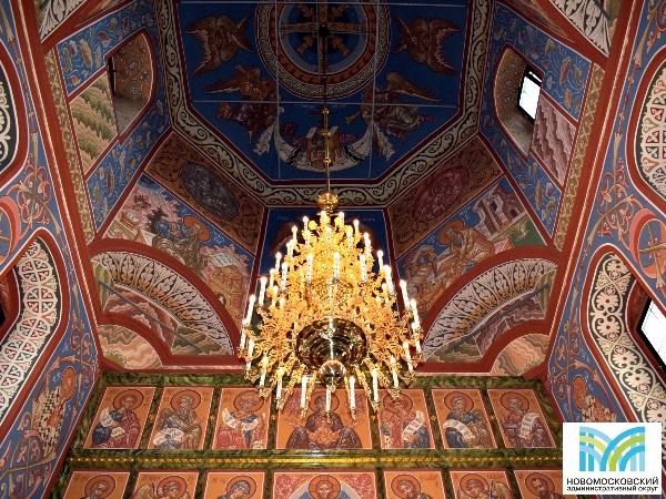 Храм Живоначальной Троицы в деревне Васюнино