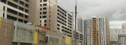 В Пыхтино завершается строительство офисного центра