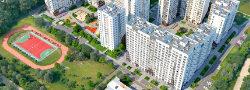 Эксперты проверили ход работ на строительстве жилого комплекса в ТиНАО