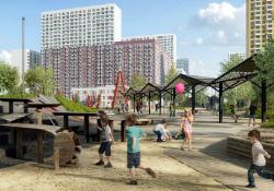В Новой Москве появится необычная детская площадка