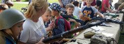 Военно-патриотический слёт молодёжи прошел в Новых Ватутинках