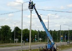 В Михайлово-Ярцевском установят 1600 светильников