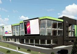 В Коммунарке построят торговый центр с панорамным остеклением