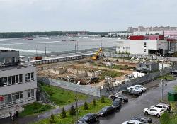 В Московском построят гостиничный комплекс