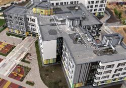В ЖК «Новая звезда» в Коммунарке построили школу на 1100 мест